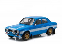 "1:18 FORD Escort RS2000 1974 ""Fast & Furious"" (из к/ф ""Форсаж VI"") Blue/White"