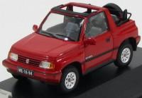 1:43 SUZUKI VITARA 1.6 JLX 4x4 Convertible 1992 Red