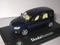 1:43 Skoda Roomster 2007 Storm Blue Metallic