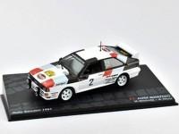 1:43 AUDI Quattro #2 H.Mikkola/A.Hertz победитель Rally Sweden 1981