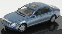 1:43 Maybach 57 SWB 2003 (cote d'azur blue middle/cote d'azur blue bright)