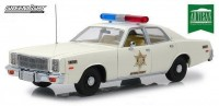 "1:18 PLYMOUTH Fury ""Hazzard County Sheriff"" 1977"