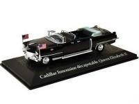 1:43 CADILLAC Limousine визит Queen Elizabeth II Voyage и Dwight D. Eisenhower в Париж 1959
