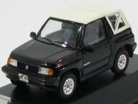 1:43 SUZUKI VITARA 1.6 JLX 4x4 Convertible с закрытым тентом 1992 Black