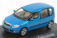 1:43 Skoda Roomster 2007 Ocean blue metallic