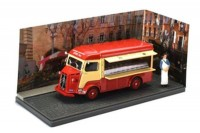 "1:43 CITROEN Type H ""Boucher Charcutier"" 1966 Red/Beige"