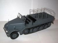 1:43 полугусеничный тягач FAMO Sd.Kfz.9 18 Ton 1943