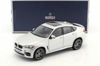 1:18 BMW X6 M (F86) 2016 Silver