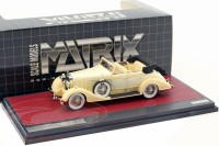 1:43 HISPANO Suiza H6C Convertible Sedan Hibbard & Darrin #12036 (открытый) 1928 Creme