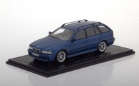 1:43 BMW 520 Touring (E39) 2002 Metallic Blue