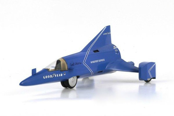 1:43 Wingfoot Express Bonneville Bob Tatroe LSR Attempt 1965
