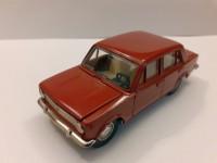 1:43 ВАЗ-2101 красный номерной А9 с Made In USSR