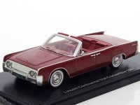1:43 LINCOLN Continental 53A Convertible 1961 Dark Red