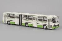 1:43 ИКАРУС-280.33M (с маршрутом), бело-зеленый