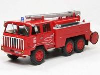 """1:43 BERLIET Fourgon-Pompe tonne """"Hors Route"""" SUR FF 6x6  (пожарный) 1972"""