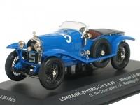 1:43 LORRAINE-DIETRICH B3-6 #5 G.De Courcelles.A.Rossignol WINNER LE MANS 1925