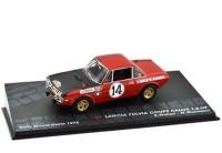 1:43 LANCIA Fulvia Coupe Rallye 1.6 HF #14 S.Munari/M.Mannucci победитель Rally Monte-Carlo 1972