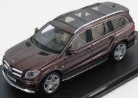 1:43 MERCEDES-BENZ AMG GL63 (X166) 2015 Metallic Brown