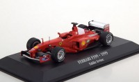 1:43 FERRARI F399 #4 Eddie Irvine 2 место 1999