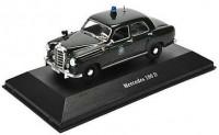 "1:43 MERCEDES-BENZ 180D (W120) ""Polizei"" (полиция Германии) 1953"