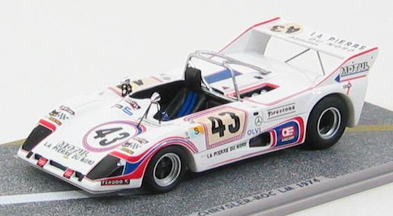 1:43 Lola T292 Simca - Chrysler - ROC #43 LM 1974
