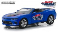 1:24 CHEVROLET Camaro SS Convertible 102 Running Indy 500 Presented 2017 Blue