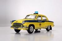 1:18 Горький-21Р  ГАИ Милиция 1969 желтый с синим