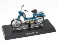 1:18 скутер PEUGEOT 104 Blue
