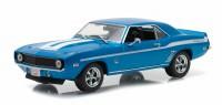 """1:43 CHEVROLET Camaro 1969 (из к/ф """"Двойной Форсаж"""") Blue"""
