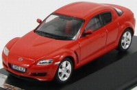 1:43 MAZDA RX8 2003 Orange Red