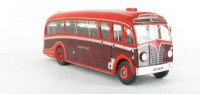 "1:43 автобус AEC REGAL III HARRINGTON ""DORSAL FIN"" ENGLAND 1950 Maroon/Red"