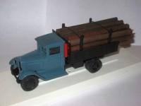 1:43 ЗиС-5 грузовик для перевозки леса (синий)