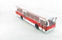 1:43 автобус BERLIET JELCZ PR100 POLAND 1973 White/Red
