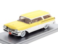 1:43 MERCURY Voyager Station Wagon 1957 Yellow/White