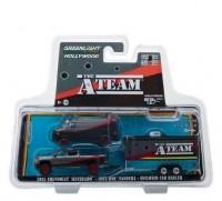 "1:64 набор CHEVROLET Silverado и GMC Vandura (фургон) (из телесериала 'Команда А"") 1983"