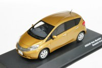 1:43 Nissan Note Medalist (beatnik gold)