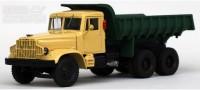 1:43 КРАЗ 256Б самосвал (1966-1969), желто-зеленый