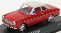 1:43 FORD TAUNUS 12M COUPE 1962 RED