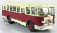 1:43 Ликинский автобус 158В (бордовый/бежевый)