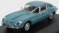 1:43 JAGUAR E-type V12 Coupe 1972 Light Blue