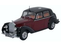 1:43 Rolls Royce Silver Dawn 1949 Maroon/Black