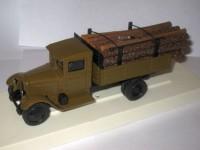 1:43 ЗиС-5 грузовик для перевозки леса (хаки)