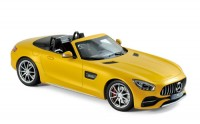 1:18 MERCEDES AMG GT C Roadster (R190) 2017 Yellow Metallic