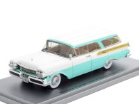 1:43 MERCURY Voyager Station Wagon 1957 White/Blue