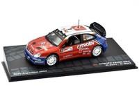 1:43 CITROEN Xsara WRC #4 C.Sainz/M.Marti победитель Rally Argentina 2004