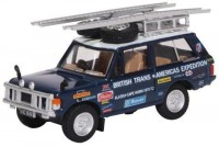 "1:76 RANGE ROVER Classic 4x4 ""British Trans-Americas Expedition"" 1972 Darien Gap"