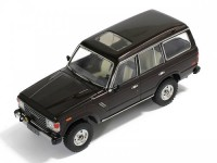 1:43 Toyota Land Cruiser 60 1982 Metallic Dark Brown