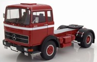 1:18 седельный тягач MERCEDES-BENZ LPS 1632 1969 Red/Black/White