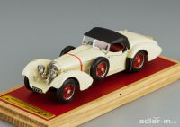 1:43 Mercedes-Benz SS By Erdmann & Rossi, closed, L.e. 50 pcs. (biege)