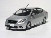 1:43 Nissan Tiida / Latio (brilliant silver)